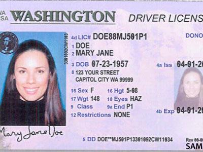 washington acceptable id